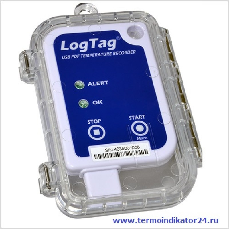 Термоиндикатор электронный ЛогТэг ЮТРИКС-16 многоразовый
