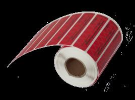 Номерные пломбы-наклейки СКР2® (20х60 мм) горизонтальные