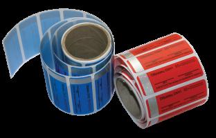 Пломбы-наклейки СКН с латентным изображением