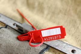 Номерная пластиковая пломба Альфа® МК1/МК2 для инкассации