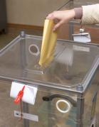 Опечатывания урн для голосования номерными пластиковыми пломбами Альфа® М