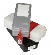 Силкипер - опечатывание номерными универсальными пломбами Альфа® МК1/МК2