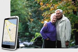 Поисковый GPS + ГЛОНАСС Маяк TRANSCOM Т-15F Контроль за передвижением  пожилых людей