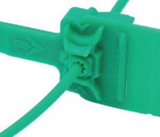 Номерная пластиковая пломба Альфа®-М1+ (морозостойкая)  сверх повышенная криминалистическая стойкость к вскрытию