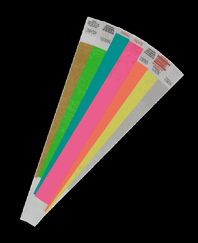 Контрольные браслеты бумажные в Красноярске Контрольные браслеты на руку