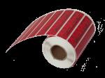 Номерные пломбы-наклейки СКР®2+ (20х60 мм) горизонтальной вырубки