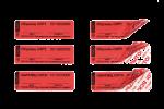Номерные пломбы-наклейки СКР2® (20х63 мм)