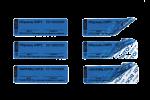 Номерные пломбы-наклейки СКР1®(20х63 мм)